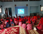 Kunjungan Dari TK Satu Atap SD Srumbung Bantul ke Rumah Belajar Modern