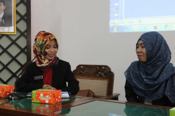 Kunjungan SMK MEC Majalengka Terkait Kearsipan BPAD DIY