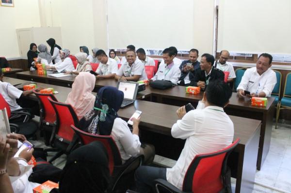 Kunjungan Sukamara Kalimantan Tengah terkait kearsipan