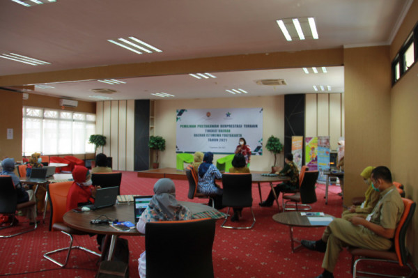 Pemilihan  Pustakawan Berprestasi Terbaik Tingkat Daerah DIY Tahun 2021