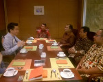 Meeting antara BPAD DIY , BKPM DIY dan Singapore International Foundation