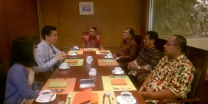 Meeting antara BPAD DIY , BKPM DIY dan Singapore International Foundation