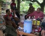 Silaturohmi Tim Gowes BPAD DIY ke Rumah Drs. Bambang Budi Sulistiya, MM Ka. Bid. Pengembangan Perpustakaan