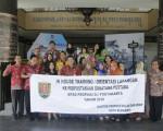 Kantor Perpustakaan dan Arsip Kota Semarang Berkunjung ke Grhatama Pustaka