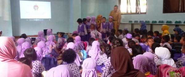 Kunjungan TK Pertiwi 57 Bangunharjo ke Rumah Belajar Modern