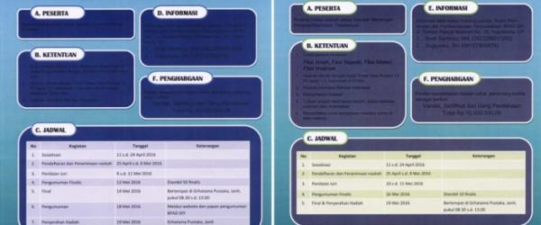 LOMBA MENULIS SINOPSIS TINGKAT SD/MI SLTP/MTS