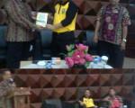 Kepala BPAD DIY menjadi Narasumber Penyusunan Regulasi/Peraturan Kearsipan di Provinsi Riau