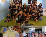 Kunjungan TK Khalifah dan SD Tumbuh Ngasem ke Grhatama Pustaka
