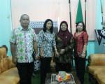Kunjungan dari Kantor Perpustakaan dan Kearsipan Daerah Kabupaten Malinau ke BPAD DIY