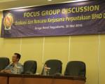 FOCUS GROUP DISSCUSION : Evaluasi Dan Rencana Kerjasama Perpustakaan BPAD DIY