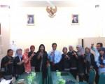 Penerimaan Pengurus Wilayah KPPI ( Kaukus Perempuan Politik Indonesia) ke BPAD DIY