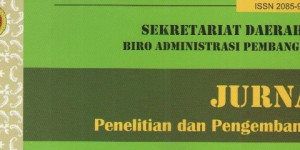 Penyerahan Bahan Pustaka Karya Cetak Dari Biro Administrasi Pembangunan Sekretariat Daerah DIY