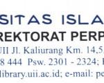 Penyerahan Bahan Pustaka Karya Cetak Dari Direktorat Perpustakaan Universitas Islam Indonesia