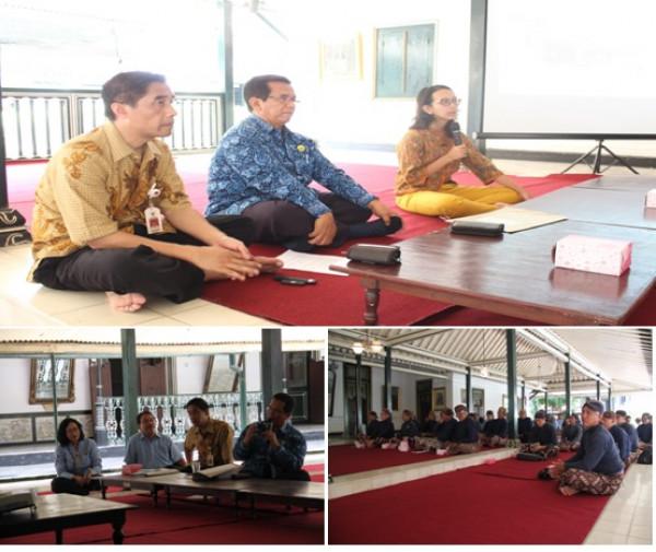 Workshop Penyusunan Pedoman Tata Kelola Arsip Kraton