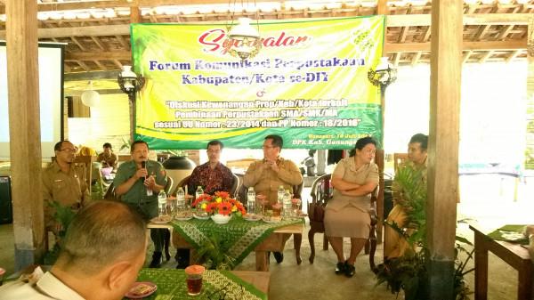 Syawalan dan Forum Komunikasi Perpustakaan Umum Daerah se-Daerah Istimewa Yogyakarta