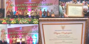 Malam Penganugerahan ANRI Award 2017: Daerah Istimewa Yogyakarta dan Kota Yogyakarta Juara!