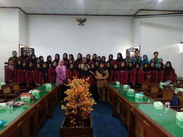BPAD DIY Menerima Kunjungan dari SMK Taruna Bangsa Ciamis