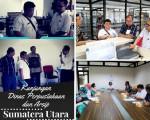 Grhatama Pustaka menerima Kunjungan dari Dinas Perpustakaan dan Arsip Daerah Sumatra Utara