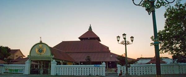 Masjid Gedhe Kauman masjid Raya Yogyakarta