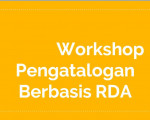MATERI WORKSHOP PENGATALOGAN RDA Indreswari