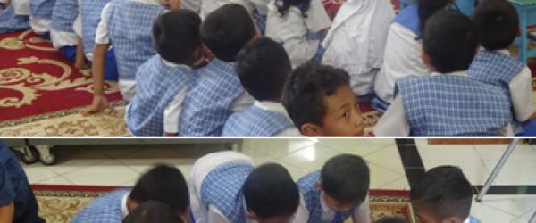 Wisata Pustaka TK PKK 113 Kartini di Rumah Belajar Modern