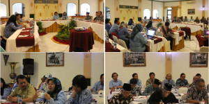 Rapat koordinasi Akuisisi Arsip Jumenengan Sri Sultan HB X dan Penobatan Pakualaman IX, dan Pakualaman X