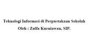 MATERI BIMTEK PERPUS SEKOLAH SMA/SMK/SLB