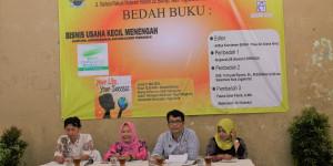 Bedah Buku Bisnis Usaha Kecil Menengah di Kampung Tukangan