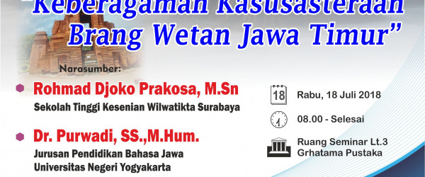 PENDAFTARAN PESERTA TELAAH PUSTAKA BUDAYA JAWA