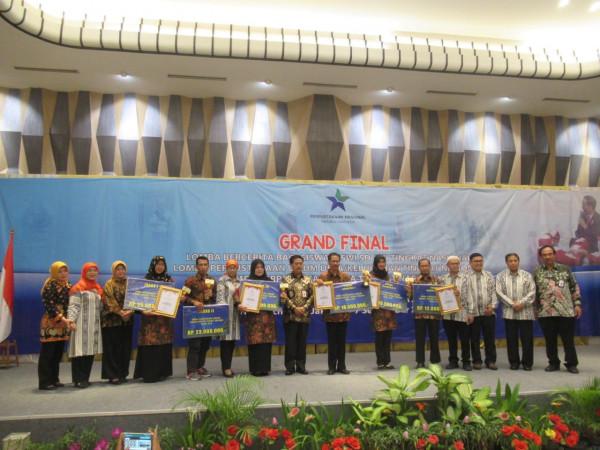 DIY meraih juara pertama lomba perpustakaan sekolah tingkat SLTA terbaik tingkat nasional
