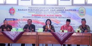 Roadshow Minat Baca di Trirenggo Bantul.
