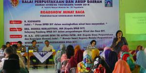 Roadshow Minat Baca Desa Tegaltirto