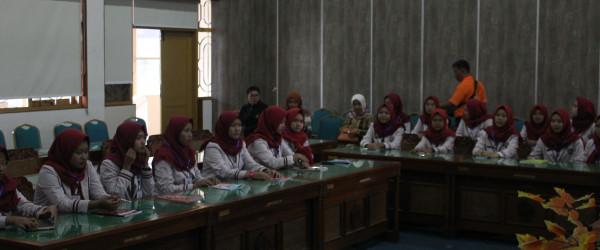 Kunjungan SMK Parung Ponteng Tasikmalaya di DPAD DIY