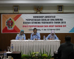 Workshop Akreditasi Perpustakaan Sekolah SMA/SMK/MA Daerah Istimewa Yogyakarta Tahun 2019