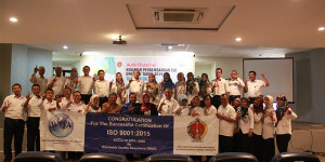 SUKSES; RE-SERTIFIKASI SMM ISO 9001:2015 DPAD DIY