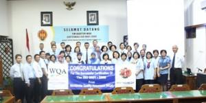BPAD DIY memperoleh sertifikat ISO 9001: 2008
