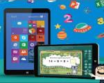 Perpustakaan Digital dalam Tablet Edukasi.