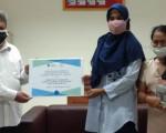 Penyerahan Bahan Pustaka Karya Cetak Dari Braille'iant Indonesia