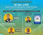Webinar BI  Nu-Lif  Bank Indonesia Nusantara Library Festival: Rebrending Perpustakaan KPwBI Provinsi Kalimantan Selatan dan Bed