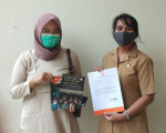 Penyerahan Bahan Pustaka Karya Cetak Dari Deepublish publisher