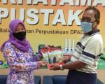 Penyerahan Bahan Pustaka Karya Cetak Dari B2P3KS Press
