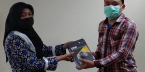 Penyerahan Bahan Pustaka Karya Cetak Dari CV. The Journal Publishing