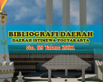 Terbitan Bibliografi Daerah No 69 Tahun 2021