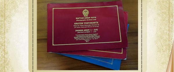 Daftar Arsip Foto Kraton Yogyakarta