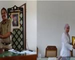 Penyerahan kenang-kenangan KI dari SMK N 1 CIPANAS,CIANJUR