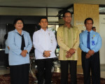 KUNJUNGAN MENTERI PANRB Prof. Dr. H. Yuddy Chrisnandi , ME ke Grhatama Pustaka DIY