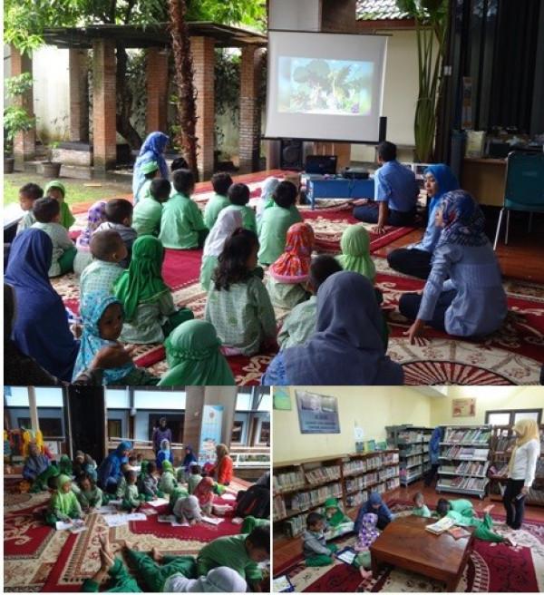 Kunjungan TK Mutiara Hati Nurul Iman Sorogenen