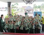 Kunjungan SD IT Salsabila 3  Banguntapan Bantul ke Grhatama Pustaka