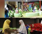 Kunjungan TK dan KB Tunas Islam Telogo Tamantirto, Kasihan, Bantul ke Grhatama Pustaka