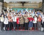 Kunjungan Peserta Diklat PIM III dari Badiklat DIY